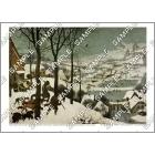 雪中の狩人  A3