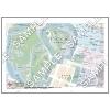 この地図は私的利用のみに許諾しております。「 現代 5-8 」 A3サイズ