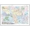 この地図は私的利用のみに許諾しております。「 現代 5-6 」 A3サイズ