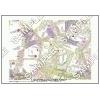 この地図は私的利用のみに許諾しております。「 江戸 4-10 」 A4サイズ