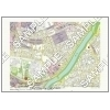 この地図は私的利用のみに許諾しております。「 江戸 4-7 」 A3サイズ