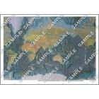 パノラマ鳥瞰図 世界の海底