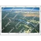 パノラマ鳥瞰図 バイカル湖