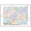 この地図は私的利用のみに許諾しております。「 現代 2-6 」 A4サイズ