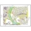 この地図は私的利用のみに許諾しております。「 江戸 4-8 」 A4サイズ