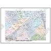 この地図は私的利用のみに許諾しております。「 現代 2-8 」 A4サイズ