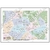 この地図は私的利用のみに許諾しております。「 現代 3-9 」 A4サイズ