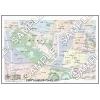 この地図は私的利用のみに許諾しております。「 現代 3-8 」 A4サイズ