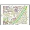 この地図は私的利用のみに許諾しております。「 江戸 4-7 」 A4サイズ